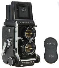 MAMIYA C330 f + 80mm 2.8 Blue Dot - New Seals -