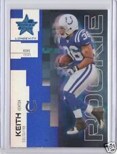 CFL Roughriders 2007 Leaf Rookies & Stars Longevity Blue Kenton Keith Rookie /99