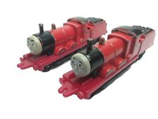 Thomas The Tank Engine & Friends 2X JAMES Train  Diecast 1987