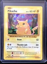 Pokemon Card Evolutions Pikachu 35/108 Cracked Ice Holo MINT