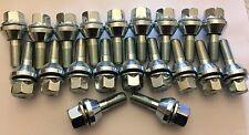 20 X M12X1.25 19mm ALEACIÓN CABEZA Variable Tambaleante Bamboleo Pernos de rueda se ajusta Fiat 58.1