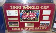 ENGLAND 1966 WINNING TEAM SIGNED  MONTAGE INC BOBBY MOORE & ALF RAMSEY  AFTAL