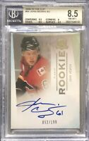 2009-10 THE CUP JOHN NEGRIN AUTO RC #94 GRADED 8.5 NM-MT+ AUTO 10 FLAMES 052/199