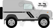 Land Rover Decals Stripes 90 Defender Landrover Graphics stickers