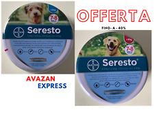 Bayer Seresto - Collare per Cane fino e oltre 8 kg cani piccoli e grandi-Offerta