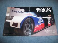 "1989 Aston Martin AMR1 Group C Formula Race Car History Article ""Beastly Beauty"""