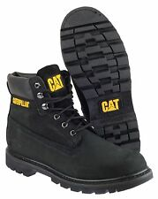 Caterpillar Colorado Unisex BOOTS Black Shoes 8 UK