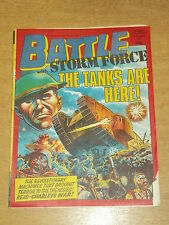 BATTLE WITH STORM FORCE 5TH SEPTEMBER 1987 BRITISH WEEKLY IPC MAGAZINE