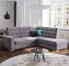 Ecksofa Hugo Eckcouch mit Schlaffunktion und Bettkasten Modernes Sofa Couch