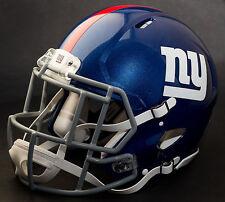 NEW YORK GIANTS NFL Gameday REPLICA Football Helmet w/ S2EG-SW-SP Facemask