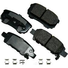 Disc Brake Pad Set-Proact Ultra Premium Ceramic Pads Rear Akebono ACT1037A