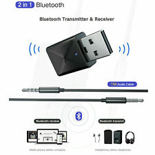 USB Bluetooth 5.0 Wireless Audio Music Stereo for TV PC Adapter Dongle receiver