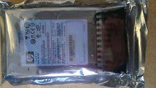 """HP proliant 146gb HDD sff 2.5"""" sas 10k enfichage à chaud 418367-b21 418399-001 DG 146 BAAJB"""