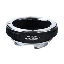 K&F Concept Adapter for Olympus OM Mount Lens to Leica M-P M240 M10 M5 Camera