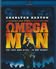 THE OMEGA MAN CHARLTON HESTON BLU-RAY SPECIAL EDITION SCI-FI CLASSIC