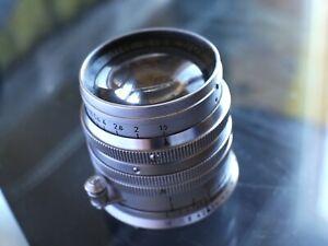 Leica Leitz Summarit-M 50mm f/1.5 chromé silver