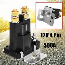 500A 12V DC 4 Pin Relé Eléctrica Corriente Relay Interruptor Contactor Coche