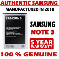 Genuine Samsung Galaxy Note 3 III N9000 Original B800BC Battery 3200mAh New 2018