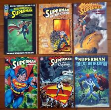 SUPERMAN 1990s DC Comics x 6 As New Never Read