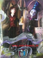 2015 SDCC EXCLUSIVE 2-Pack MONSTER HIGH VILLAIN VALENTINE & WHISP DOLLS