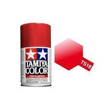 Tamiya TS-18 Metallic Red 100ml Color Plastics TS18 spray plastica
