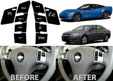 Replacement Steering Wheel Control Button Stickers For 2008+ Malibu Corvette New