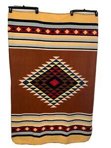 St. Labre Indian School Blanket 5'x3'1/2 Multicolor Soft Throw Blanket