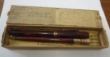 1930s WAHL Eversharp Fountain Pen/Pencil Set w/ Box