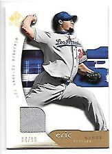 ERIC GAGNE   2005 SP AUTHENTIC JERSEY GOLD #37 SERIAL #4/99  LOS ANGELES DODGERS