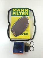MANN-FILTER HYDRAULIKFILTER + DICHTUNG + VAICO GETRIEBESTECKER MERCEDES 5-GANG