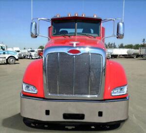 "16"" Peterbilt 386 Front Bumper Set Back Axle OE Style # P17433"