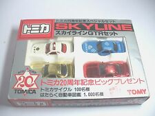 Tomy Tomica 20th Anniversary SKYLINE GTR Set 1:59 Scale Made in Japan Dead Stock