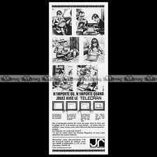 TELECRAN (JR Jouets Rationnels) 1965 - Pub Publicité / Original Advert Ad #C160