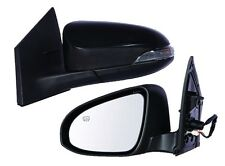 Driver Side Heated Power Mirror with Turn Signal FOR 2014 2015 Toyota Corolla