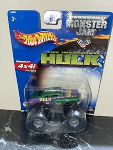 Hot Wheels Monster Jam Truck 1:64 THE INCREDIBLE HULK