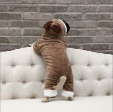 Pet Dog Costume Jumpsuit Sheep Roleplay Christmas Clothes Pug French Bulldog Thi