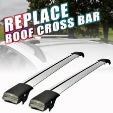 Universal Car Top Roof Rack Cross Bars Adjust Clamps Anti-Thief Luggage Carrier