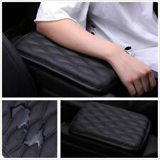1Pcs Armrest Pad Center Console Lid Cover Leather Synthetic Universal For Cars