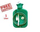 NEW REUSABLE RUBBER DOUCHE CLEANSING ENEMA BAG ANAL VAGINAL 1 Litre/33.8 Oz