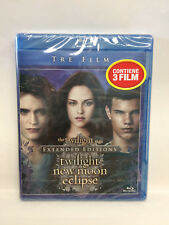 THE TWILIGHT SAGA - EXTENDED EDITION - TWILIGHT, NEW MOON, ECLIPSE - BLU RAY