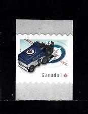 VC715 CANADA COIL SINGLE, MINT NH VF - NHL ZAMBONI WINNIPEG JETS