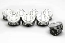 Speed Pro Chevy 350/5.7 Hypereutectic Coated Skirt Dish Pistons Set/8 +.060 9:1