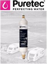 Puretec Inline Caravan RV Water Filter CR20 - SilverPlus™