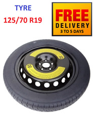 Brand New Space Saver Spare Tyre & Wheel 125/70 R19 for BMW X1 F48 (2014-2019)