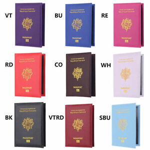 Pass Holder Soft Cover Holder Protector Business Card Wallet Passport Cover