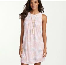 Tommy Bahama Que Sera Serafina Dress Floral Sundress Smocked Small S