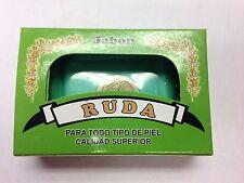 RUE (RUDA) SPIRITUAL BAR SOAP (JABON DE RUDA CON AMULETO) WITH COIN AMULET 2 OZ