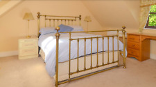 Antique brass style 5' bed surround - Kingsize