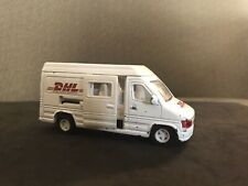 Pull Back Diecast DHL Worldwide Express Delivery White Truck