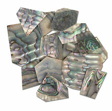 StewMac Pearl Inlay Blanks - 1oz Pack, Green abalone